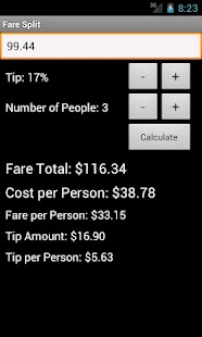 Fare Split- screenshot thumbnail