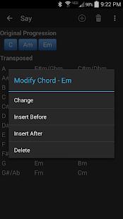 Chord Transposer- screenshot thumbnail