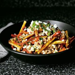 Smitten Kitchen's Honey and Harissa Farro Salad
