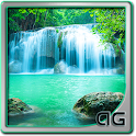 Waterfall Animated LWP icon