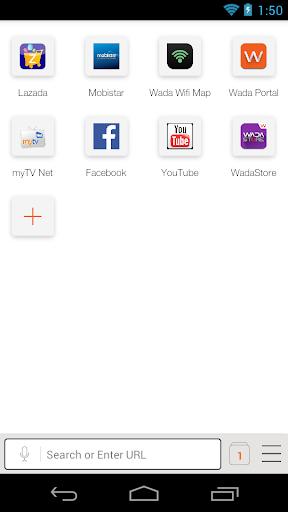 WADA Browser:轻便浏览器