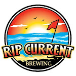 Logo of Rip Current Dangerous Undertow Dark Belgian