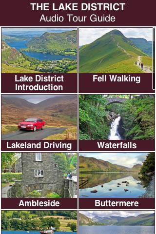 Lake District Audio Tour Guide