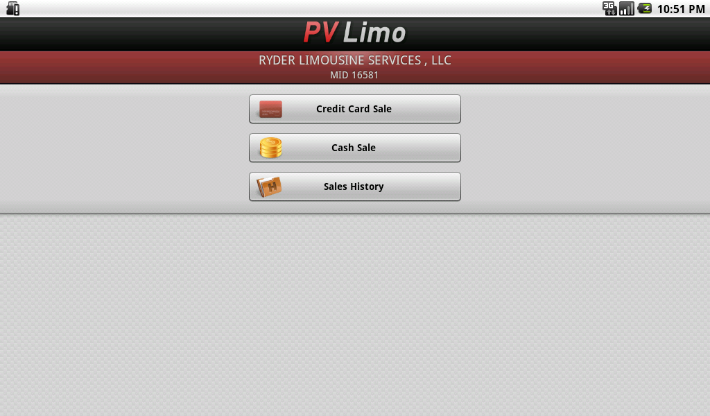 PV Limo- screenshot