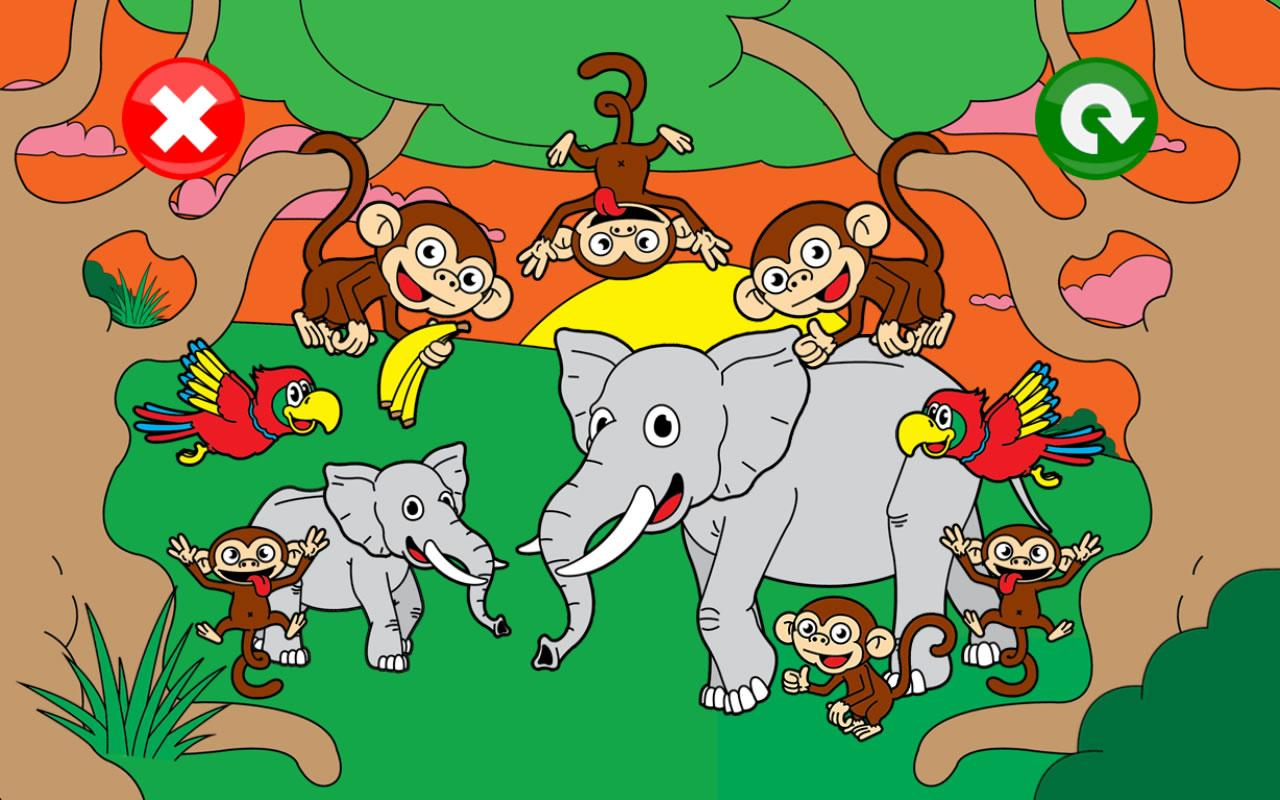 kids puzzle animal games for kids toddlers free android apps on