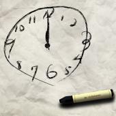 Scribble Clock