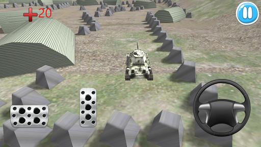 停坦克车3D