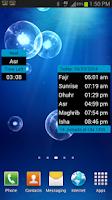 Screenshot of alQibla (Salat,Qibla,HijriCal)
