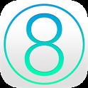 8OS Launcher Theme Lockscreen icon