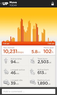UP by Jawbone - screenshot thumbnail