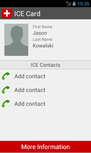 ICE Card- screenshot thumbnail