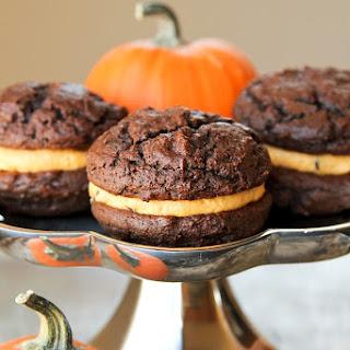 Chocolate Pumpkin Whoopie Pies