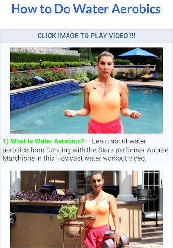 Water Aerobics Workout
