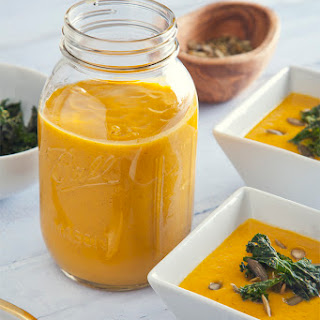 Freezer-Friendly Pumpkin Soup (Vegan, Gluten-Free)