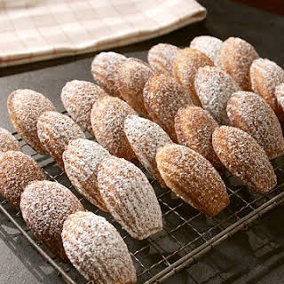 Honey Madeleines.