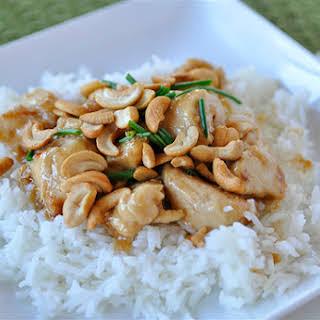 Cashew Nut Chicken.