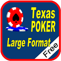 Texas Hold'em Poker Large Free icon
