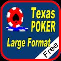 Texas Hold'em Poker Large Free icon