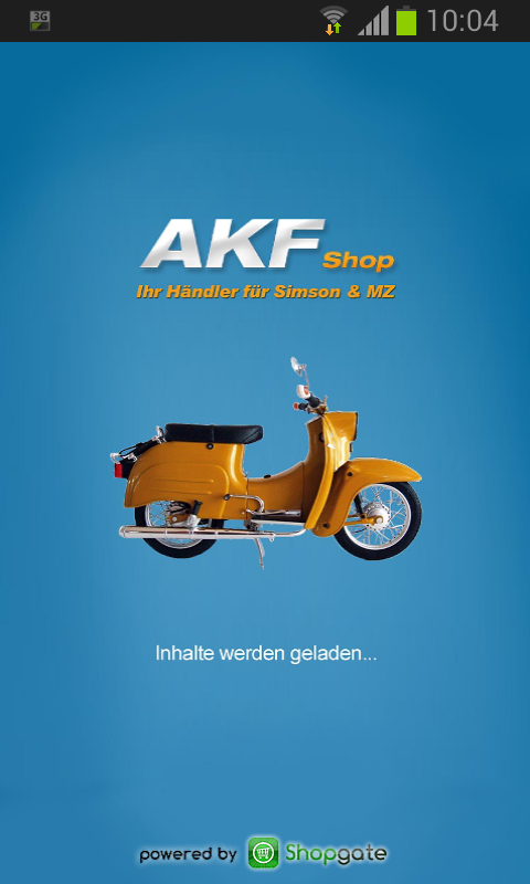 AKF Shop - screenshot