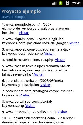 Pa SEO for Google- screenshot