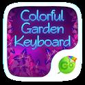 Colorful Garden Go Keyboard icon