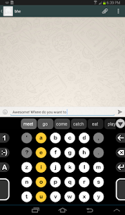 Dextr Alphabetic Keyboard 2.0- screenshot thumbnail