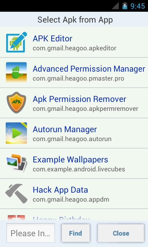 APK Editor Pro Screenshot 1