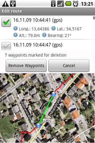 RouteTracker Pro License- screenshot