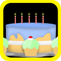 Birthday Countdown&Balloon Pop icon