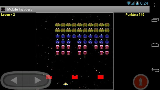 Mobile Invaders (Free) - screenshot thumbnail