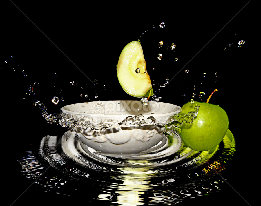by Dipali S - Food & Drink Fruits & Vegetables ( juicy, splash, diet, drop, breakfast, leaf, water drop, life, nature, fresh, juice, lifestyle, healthcare, water, isolated, fruit, green, white, delicious, waterdrops, health, product, nutrition, red, splashing, food, apple, background, ripe, summer, healthy, freshness, eat, vitamin, garden, natural,  )