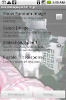 Screenshot of Waterpaper Live Wallpaper