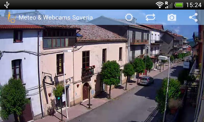Meteo & Webcams Soveria - screenshot
