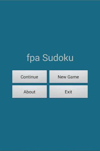 Fpa Sudoku