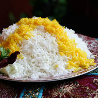 Persian Steamed White Rice (Chelo).