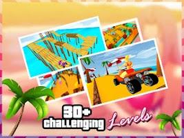 Screenshot of Beach Rescue Buggy 3D