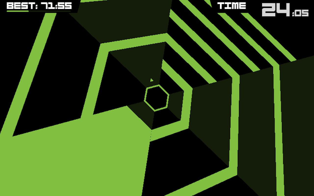 Super Hexagon - screenshot