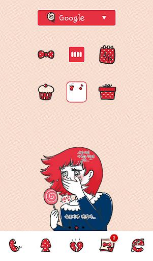 玩個人化App 솔로지만 괜찮아 도돌런처 테마免費 APP試玩