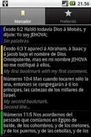 Screenshot of Santa Biblia (Holy Bible)