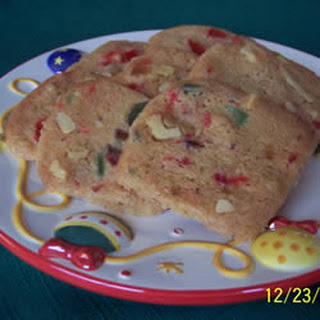 Fruit and Nut Shortbread