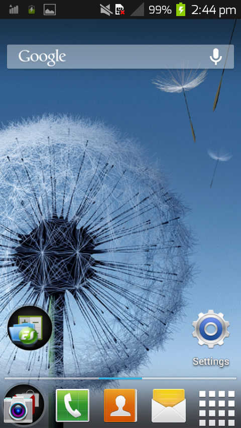 Galaxy s4 theme 4 All Launcher - screenshot