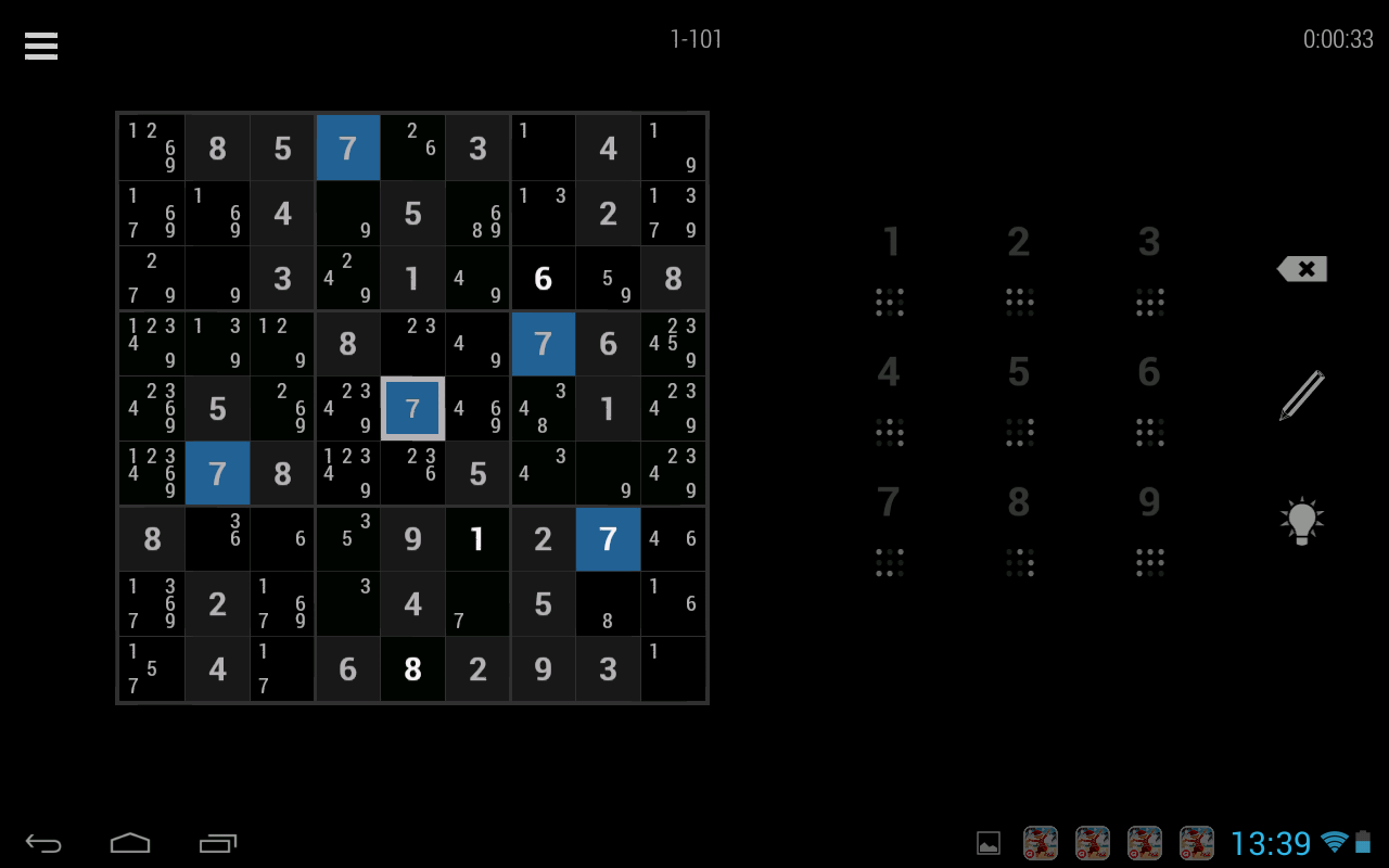 Simply Sudoku - screenshot