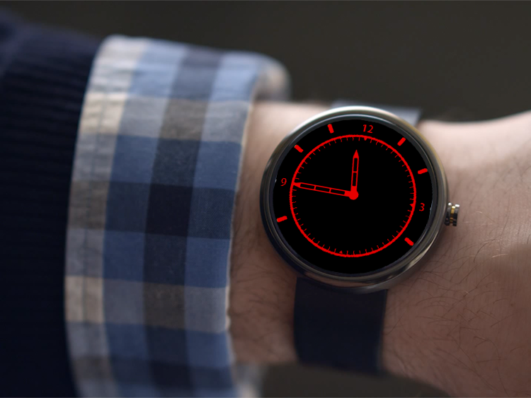 A32 WatchFace for Moto 360- screenshot