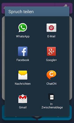 1000 Schöne Sprüche - screenshot