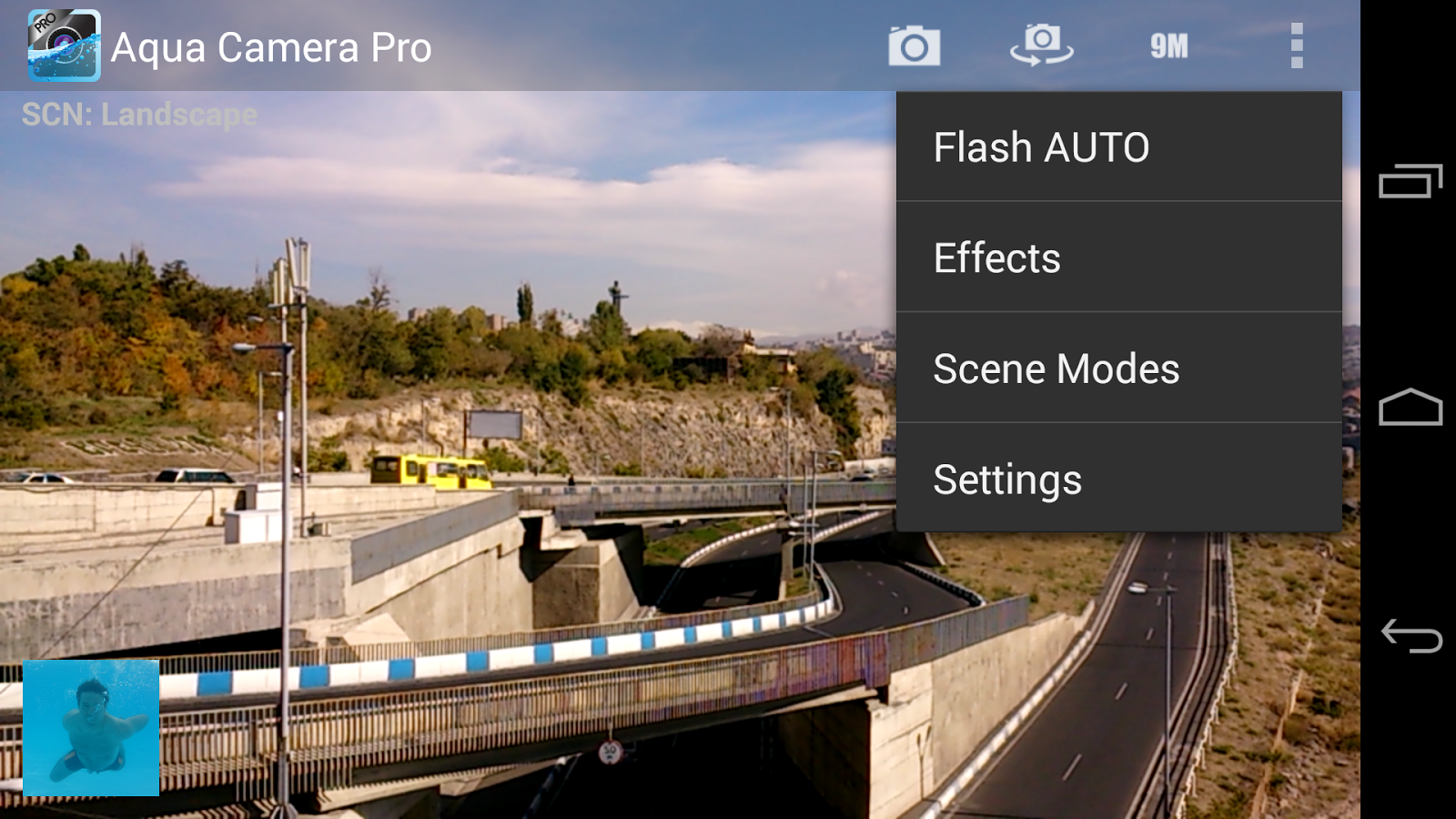 Aqua Camera Pro - screenshot
