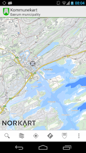 Kommunekart - Map of Norway - screenshot thumbnail