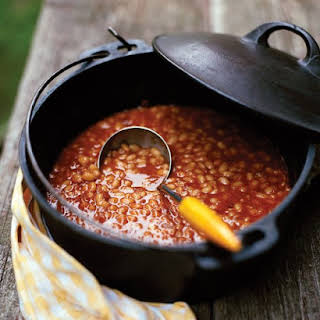Slow-Cooked Baked Beans.