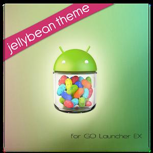 Jelly Bean Theme GOLauncherEX  |  Temas para Android - App de Personalización