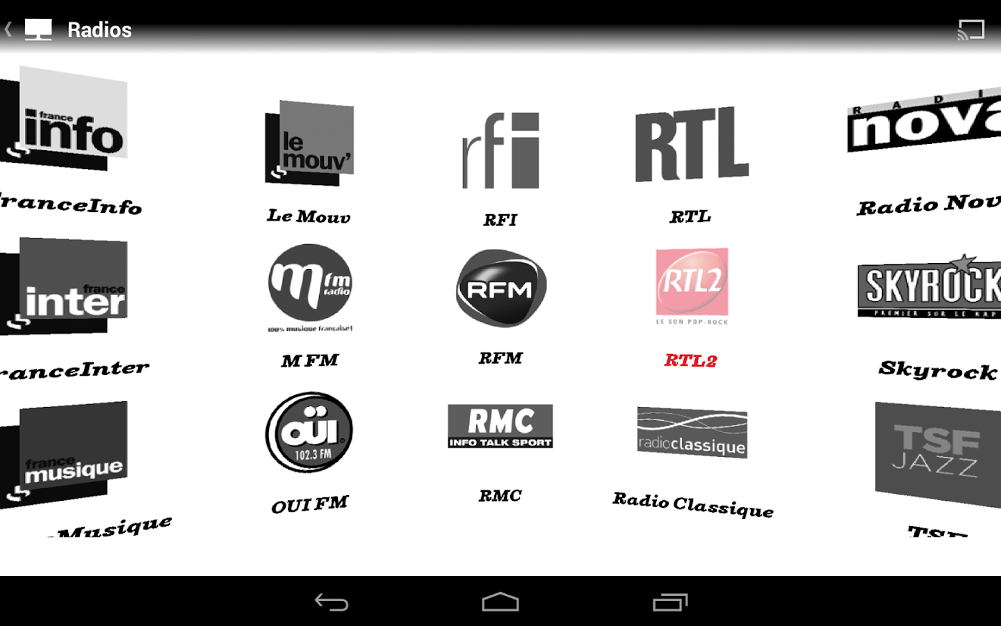 SFR TV - screenshot