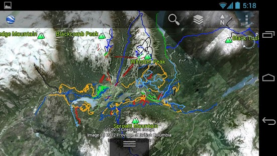 3D Whistler - Summer Map - screenshot thumbnail